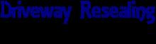 logo - driveway resealing & maintenance