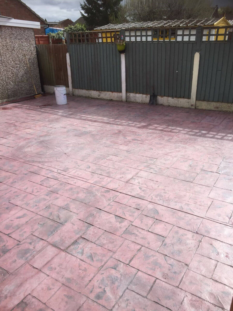Before - Driveway reseal in Heald Green, Stockport