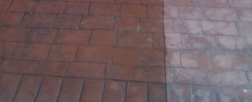 Bringing your old concrete driveway or patio back to life!