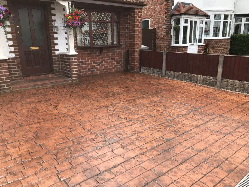 Driveway reseal the Sale area of Manchester