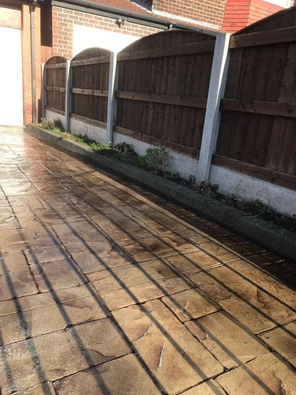 Driveway resealed Manchester