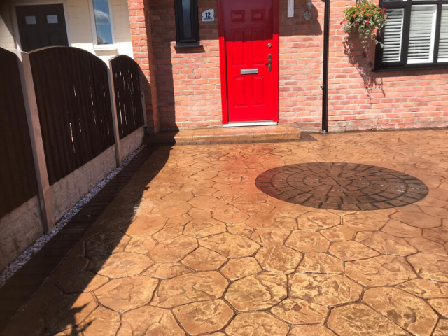 Driveway resealed in Manchester