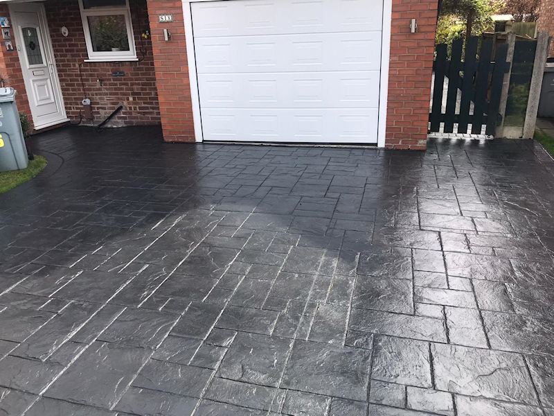 Driveway and Patio Reseal in Wilmslow